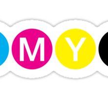CMYK 3 Sticker