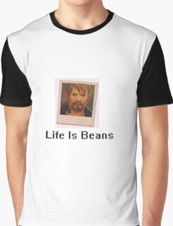 Life Is BEANS Graphic T-Shirt