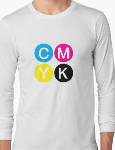 CMYK 4 Long Sleeve T-Shirt