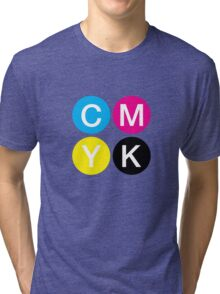CMYK 4 Tri-blend T-Shirt