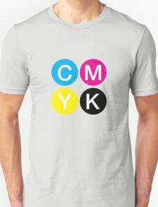 CMYK 4 Unisex T-Shirt