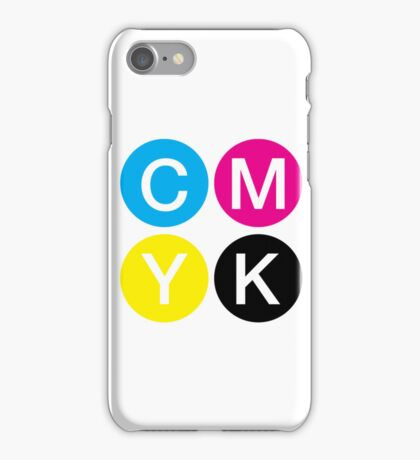 CMYK 4 iPhone Case/Skin