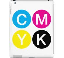 CMYK 4 iPad Case/Skin