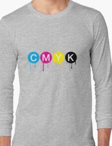 CMYK 5 Long Sleeve T-Shirt
