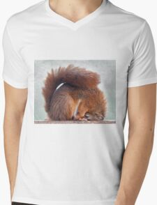 So is this what they call the Lotus Position? Mens V-Neck T-Shirt