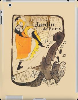 JARDIN DE PARIS iPAD CASE by Catherine Hamilton-Veal  ©