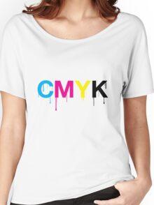 CMYK 6 Women's Relaxed Fit T-Shirt