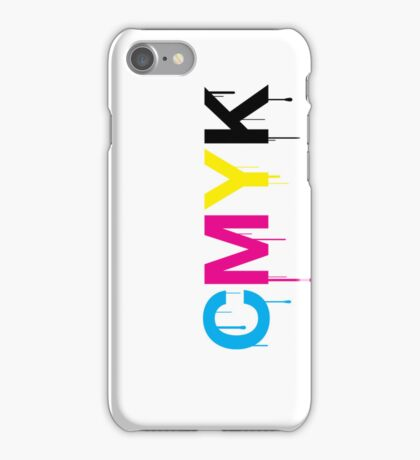 CMYK 6 iPhone Case/Skin