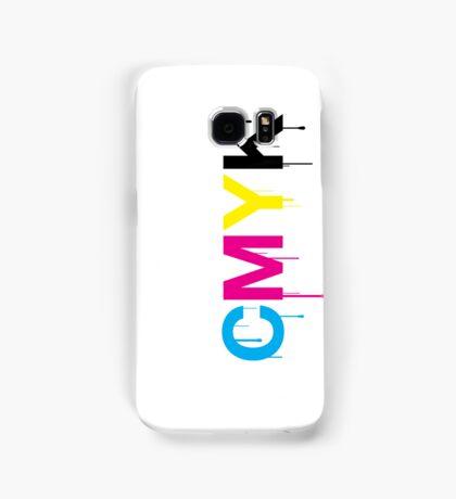 CMYK 6 Samsung Galaxy Case/Skin