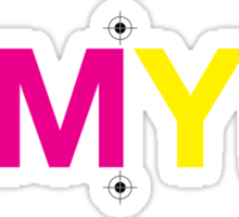 CMYK 7 Sticker