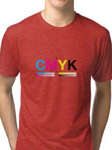 CMYK 8 Tri-blend T-Shirt