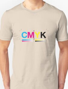 CMYK 8 Unisex T-Shirt