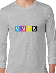 CMYK 9 Long Sleeve T-Shirt