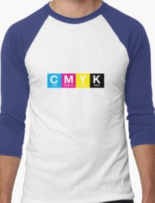 CMYK 9 Men's Baseball ¾ T-Shirt