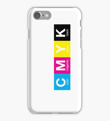 CMYK 9 iPhone Case/Skin