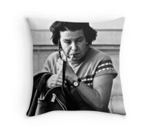 In The Zone .. Throw Pillow