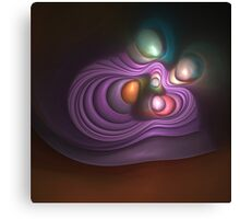 The Purple Bird's nest Canvas Print
