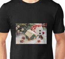 Gingerbread house Unisex T-Shirt