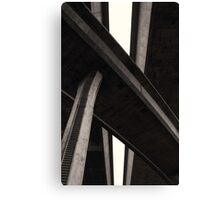 Overpass Middle Canvas Print
