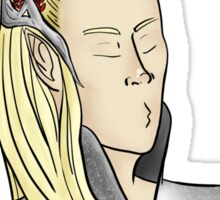 Thranduil's Too Fab For You Sticker