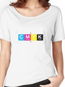 CMYK 10 Women's Relaxed Fit T-Shirt