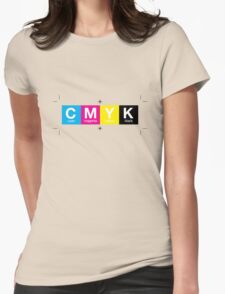 CMYK 10 Womens Fitted T-Shirt