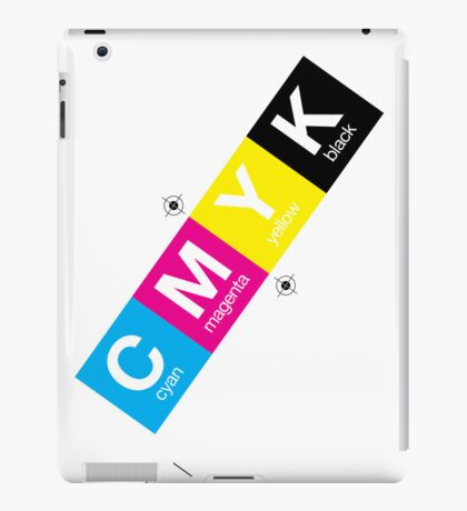 CMYK 10 iPad Case/Skin