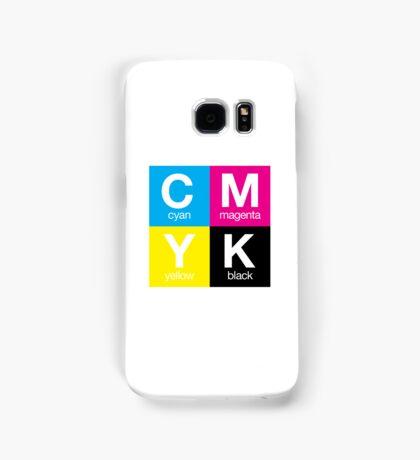 CMYK 11 Samsung Galaxy Case/Skin