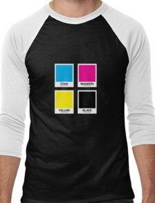 CMYK 12 Men's Baseball ¾ T-Shirt