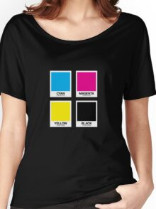 CMYK 12 Women's Relaxed Fit T-Shirt