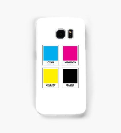 CMYK 12 Samsung Galaxy Case/Skin