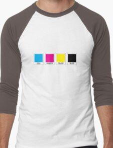 CMYK 13 Men's Baseball ¾ T-Shirt