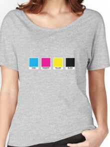 CMYK 13 Women's Relaxed Fit T-Shirt