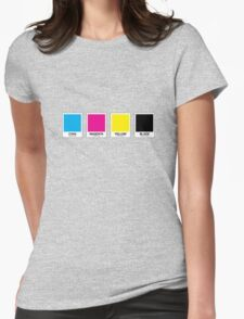CMYK 13 Womens Fitted T-Shirt