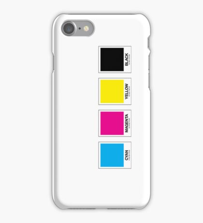 CMYK 13 iPhone Case/Skin