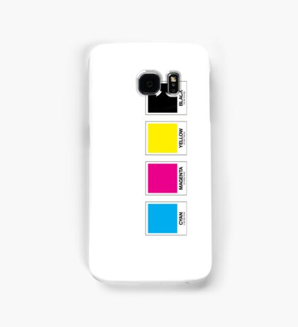 CMYK 13 Samsung Galaxy Case/Skin