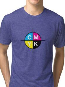 CMYK 14 Tri-blend T-Shirt