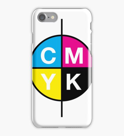 CMYK 14 iPhone Case/Skin