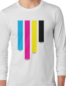 CMYK 16 Long Sleeve T-Shirt