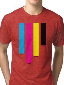 CMYK 16 Tri-blend T-Shirt