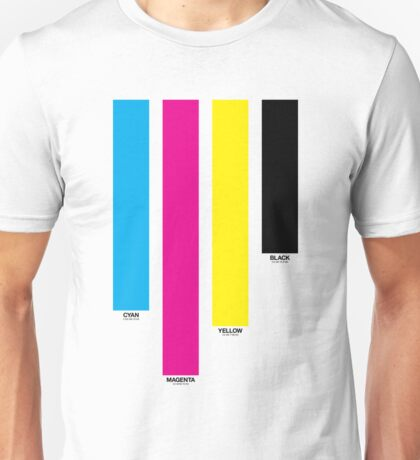 CMYK 16 Unisex T-Shirt