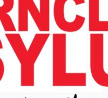 Ferncliff Asylum  Sticker