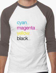 CMYK 17 Men's Baseball ¾ T-Shirt