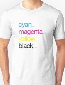 CMYK 17 T-Shirt