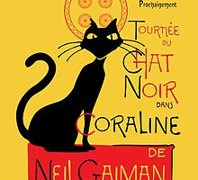 Chat Noir du Coraline by mjcowan