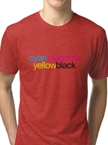 CMYK 18 Tri-blend T-Shirt