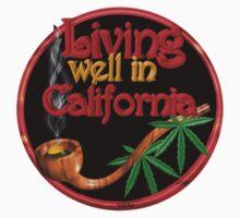 Living well in California w/ cannabis/marijuana  by Valxart