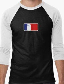 Major League Phone Box Men's Baseball ¾ T-Shirt