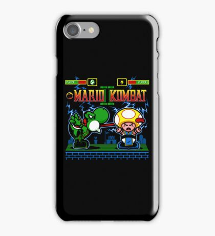 Mario Kombat II iPhone Case/Skin