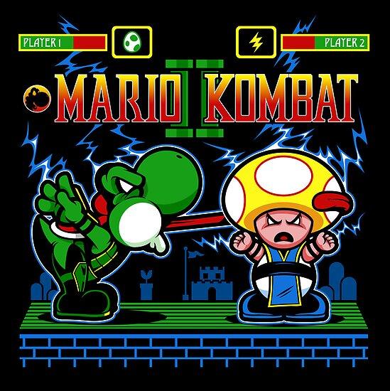 Mario Kombat II by harebrained